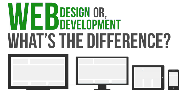 Web design or development? What is the difference?